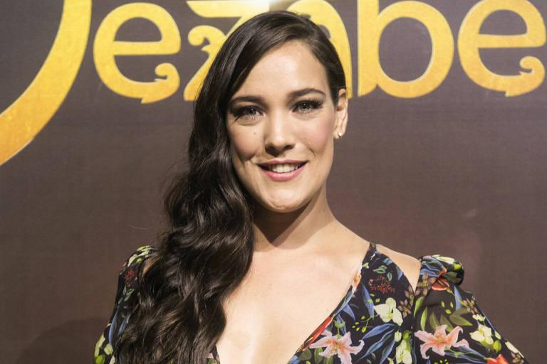 """Adriana Birolli interpreta a israelita Aisha na macrossérie """"Jezabel"""", da TV Record"""