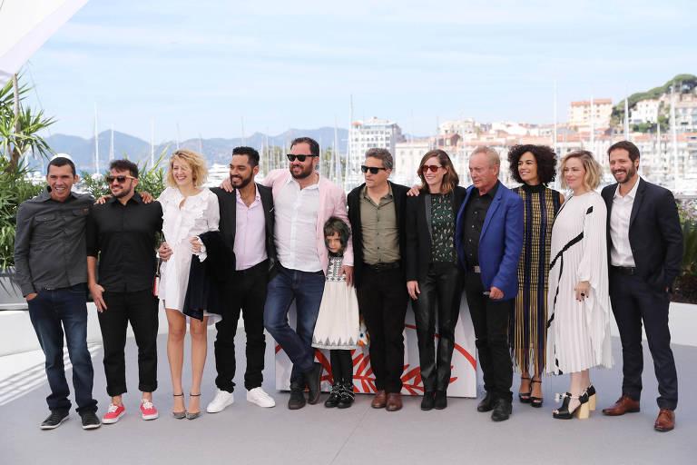 Exibição de 'Bacurau' em Cannes em 2019