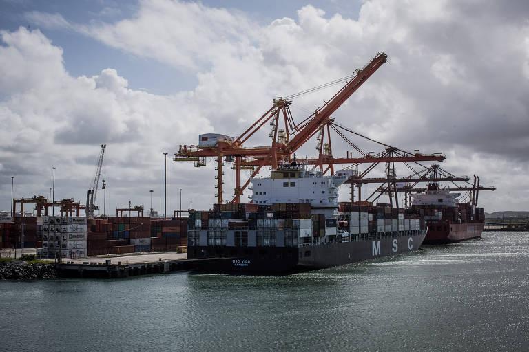 Porto de Suape, em Pernambuco