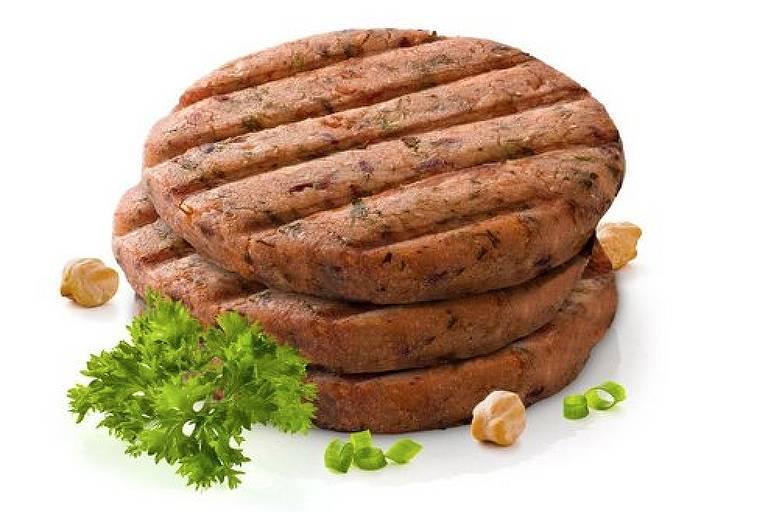 Produtos vegetarianos que imitam carne