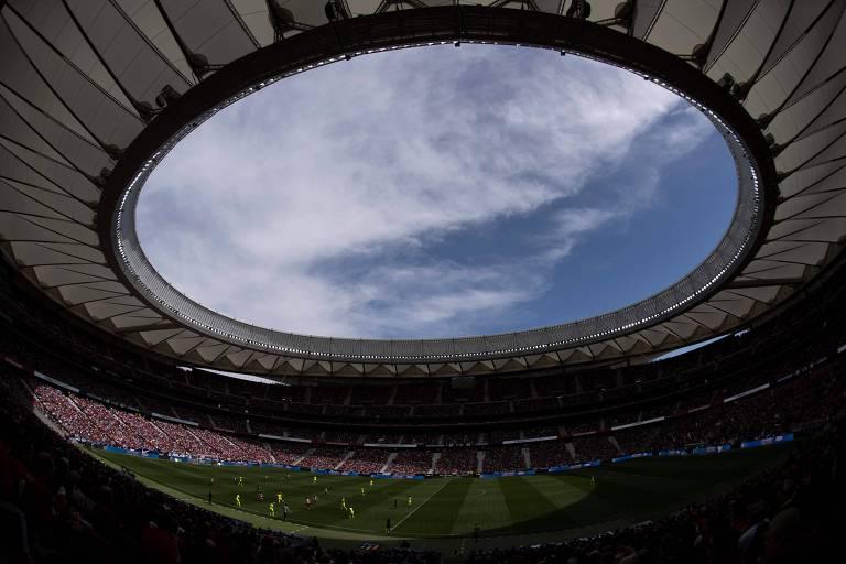 Mais de 60 mil pessoas foram ao Wanda Metropolitano assistir a Atlético de Madrid e Barcelona no feminino