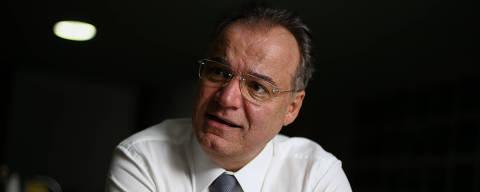 BRASILIA, DF, 16.05.2019: O relator da reforma da previdência na Câmara, deputado Samuel Moreira (PSDB-SP), durante entrevista à Folha, no cafézinho do Plenário da Câmara, em Brasília. (Foto: Pedro Ladeira/Folhapress)