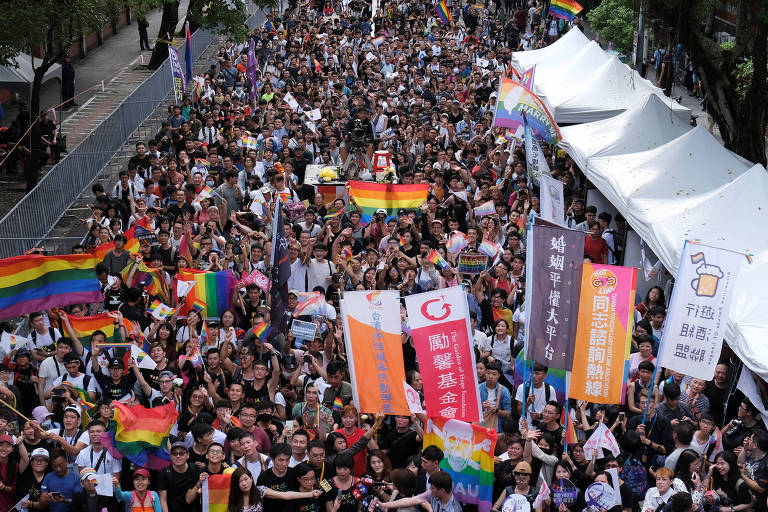 Taiwan é 1º país da Ásia a legalizar casamento entre pessoas do mesmo sexo