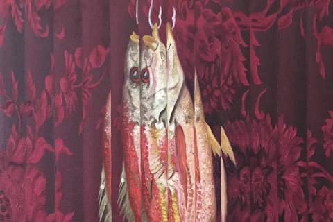 Obra 'Natureza Morta com Peixe