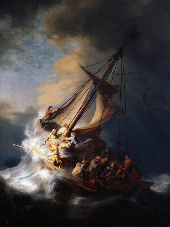 'Tempestade no Mar da Galileia', de Rembrandt