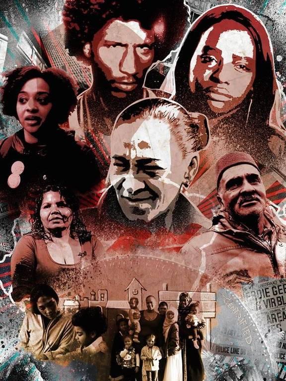 """Pôster do filme """"Not in My Neighbourhood"""", um dos destaques da sexta edição do Festival de Finos Filmes"""