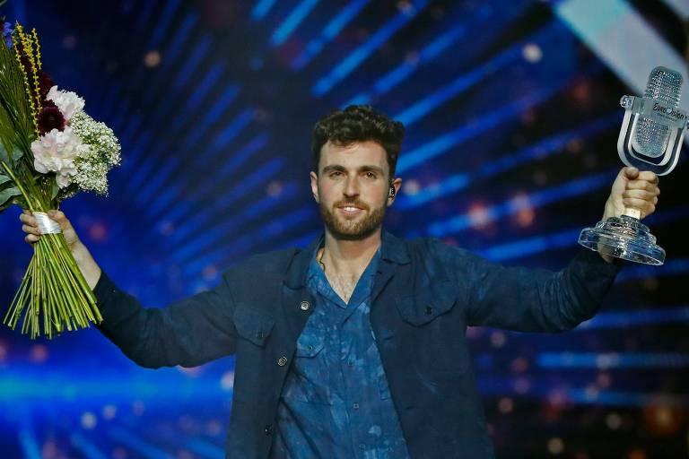 """O holandês Duncan vence o Eurovision com a canção """"Arcade"""""""