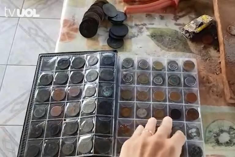 Italiano acha moedas históricas brasileiras e é detido por tentar vendê-las