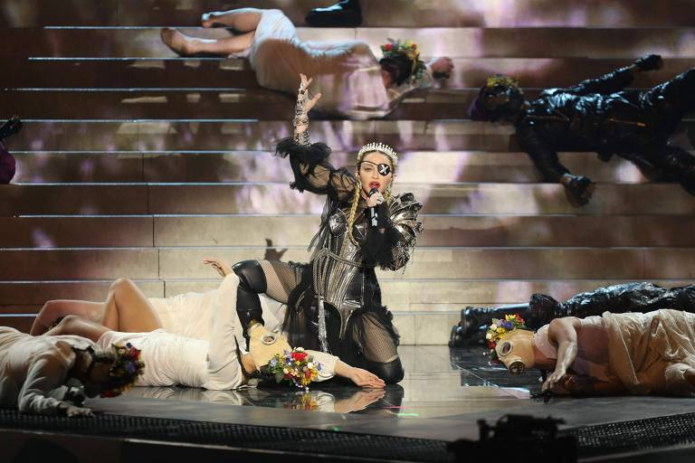 Madonna no 64º Eurovision