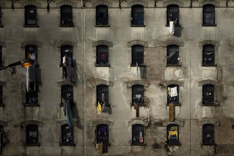 Pavilhão de penitenciária feminina na capital paulista em 2010, durante o período em que a população carcerária do estado quadruplicou