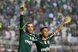 Brasileiro Championship - Palmeiras v Santos