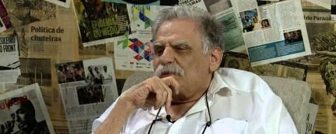 Cineasta Luiz Rosemberg FIlho, que morreu no domingo, 19 de maio de 2019