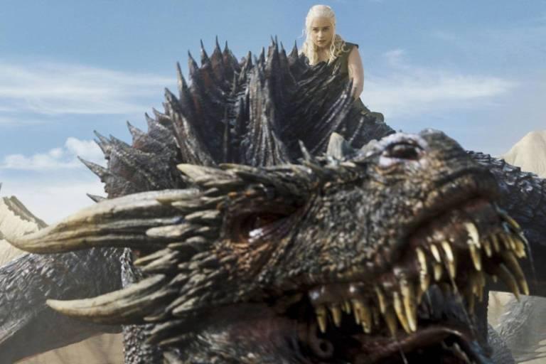 mãe dos dragões na série Game of Thrones