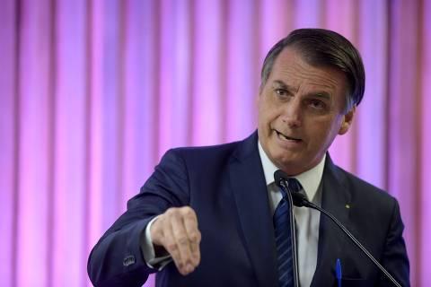 O grande problema do Brasil é a classe política, diz Bolsonaro