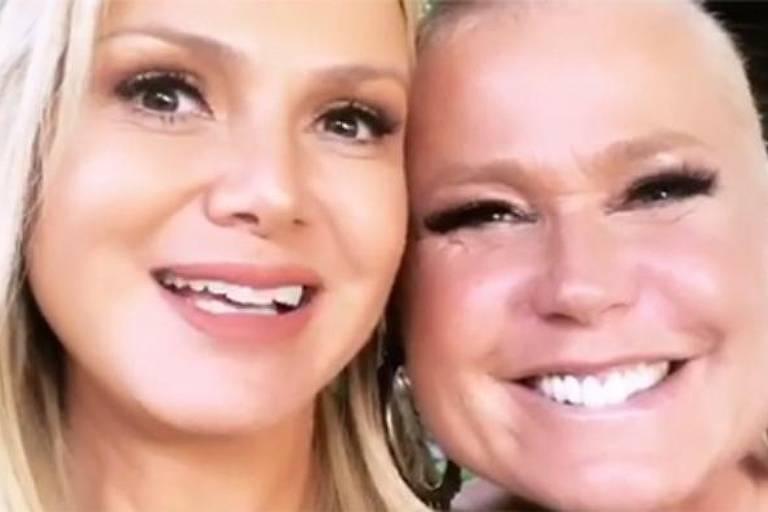 Xuxa se encontra com Eliana
