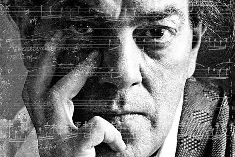 O compositor Heitor Villa-Lobos.    [FSP-Ilustrada-27.03.97]*** NÃO UTILIZAR SEM ANTES CHECAR CRÉDITO E LEGENDA***
