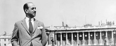 Roberto Marinho em Paris no ano de 1955