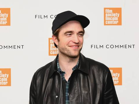 """NEW YORK, NEW YORK - APRIL 04: Robert Pattinson attends The Film Society of Lincoln Center's, Film Comment Free Talk for """"High Life"""" at Elinor Bunin Munroe Film Center on April 04, 2019 in New York City.   Nicholas Hunt/Getty Images/AFP == FOR NEWSPAPERS, INTERNET, TELCOS & TELEVISION USE ONLY =="""