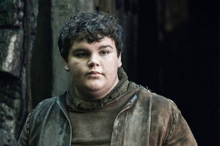 Ben Hawkey como o Torta Quente de 'Game of Thrones'