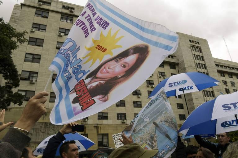 Julgamento de Cristina Kirchner, em maio