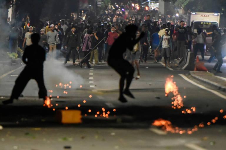 Protestos na Indonésia