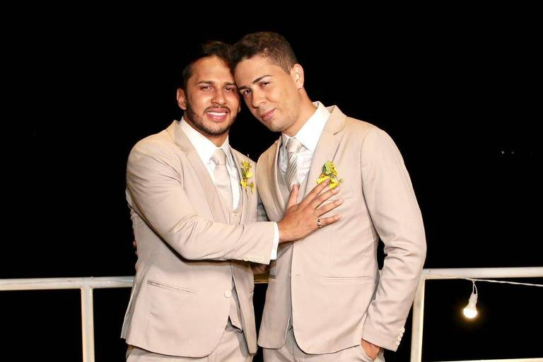 Lucas Guimarães e Carlinhos Maia se casam