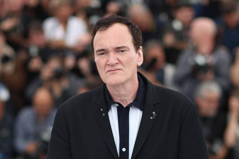 Diretor Quentin Tarantino, no Festival de Cannes