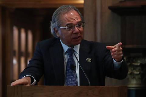 Sistema de repartição causa mais suicídio do que o de capitalização, diz Guedes