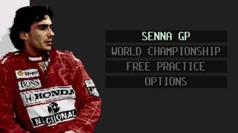 Senna's Super Monaco GP, jogo protagonizado por Ayrton Senna