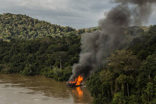 Megaoperação IBAMA Pará.
