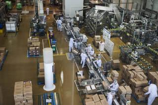 ***Esp Industrias 4.0*** Fabrica da Natura  setor de producao de Cremes e Locoes  que futuramente podera receber tecnologia 4.0
