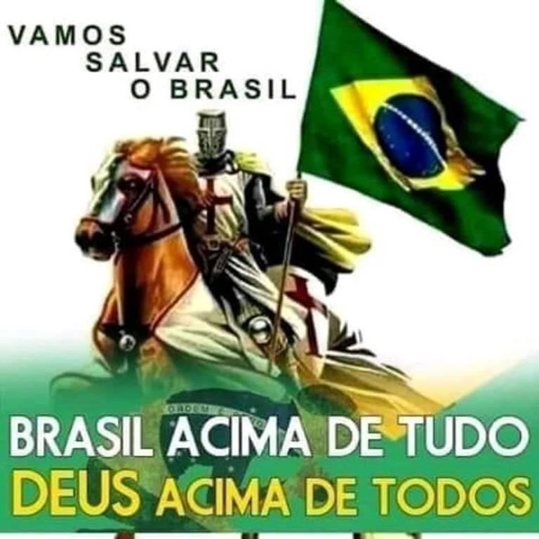 Grupos pró-Bolsonaro no WhatsApp e Telegram