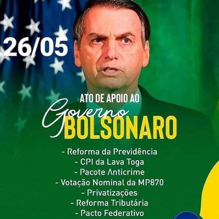Grupos pró-Bolsonaro no WhatsApp e Telegram