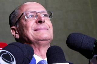 Geraldo Alckmin presta depoimento como testemunha na PF/Entrevista