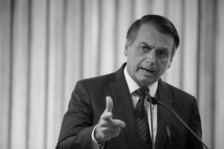 Jair Bolsonaro durante evento na Firjan (Federação das Indústrias do Estado do Rio de Janeiro), neste mês