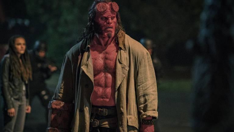 """Cena do filme """"Hellboy"""""""