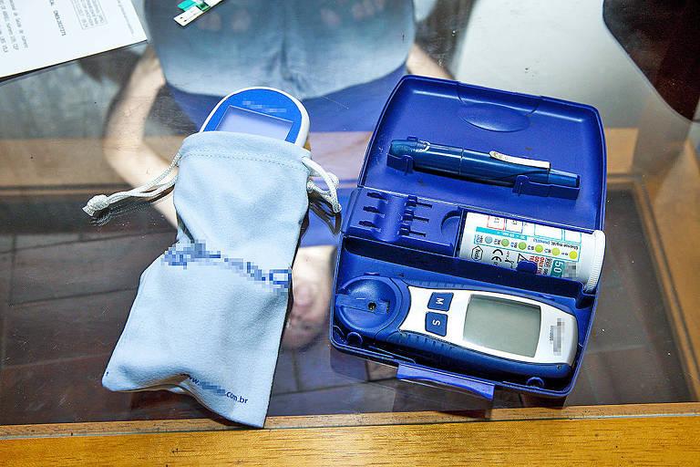 Cliente relata que comprou três aparelhos para medir glicemia, mas não recebeu produtos