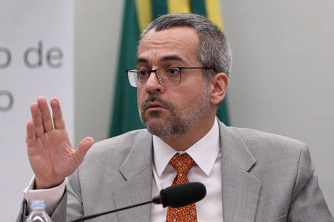 BRASILIA, DF,  BRASIL,  22-05-2019, 12h00: O ministro da Educação Abraham Weintraub durante audiência na comissão de Educação da câmara. (Foto: Pedro Ladeira/Folhapress, PODER)