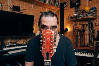 O cantor e compositor João Luiz Woerdenbag Filho, mais conhecido como Lobão