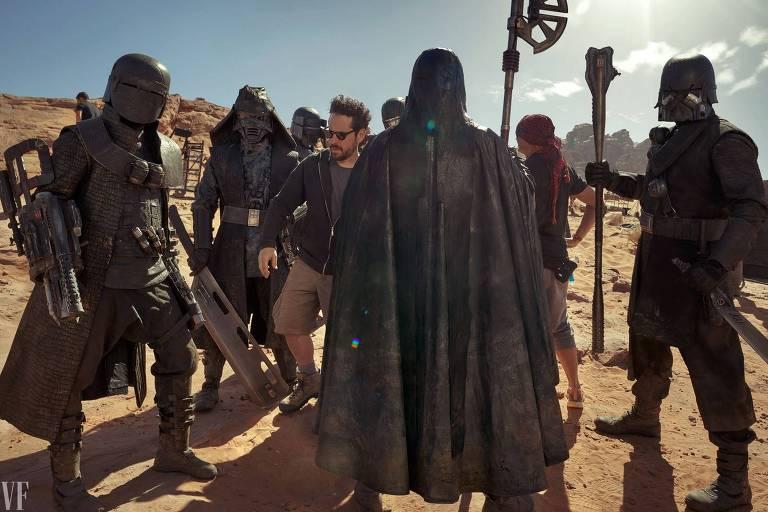 J.J. Abrams dirige os Cavaleiros de Ren