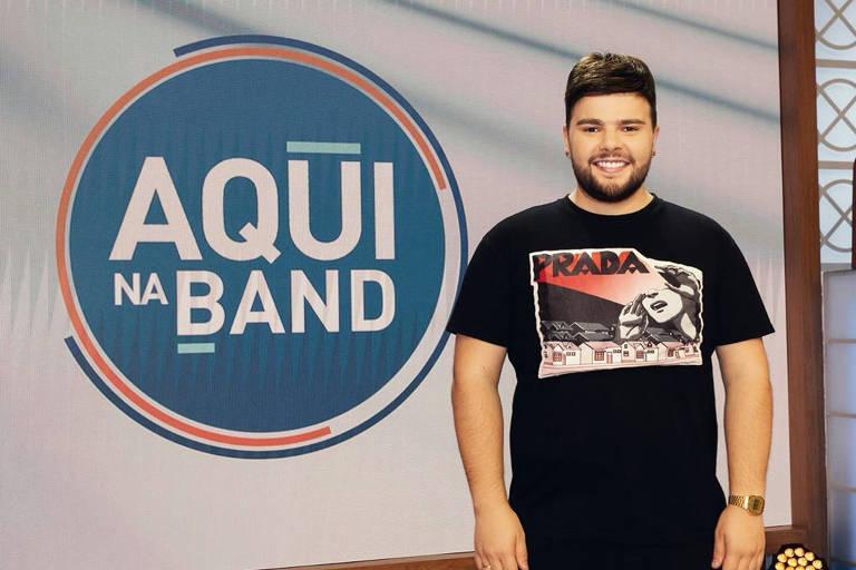 Band contrata blogueiro Nana Rude