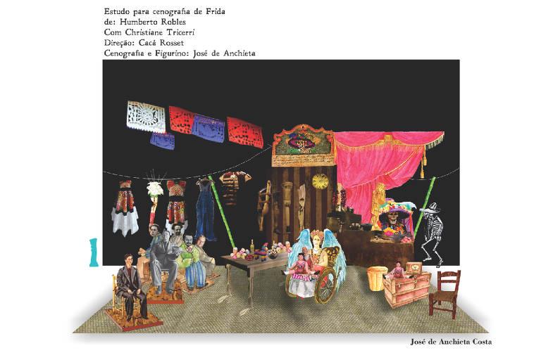 A cenografia de José de Anchieta Costa