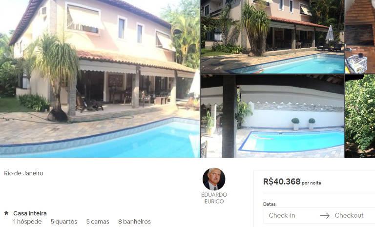 Os anúncios mais caros do Airbnb no Rio de Janeiro e em São Paulo