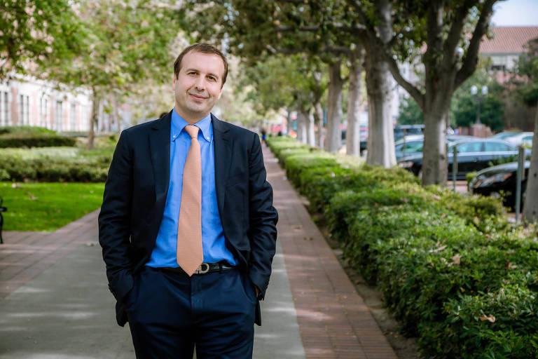 O especialista em comércio Yann Duzert