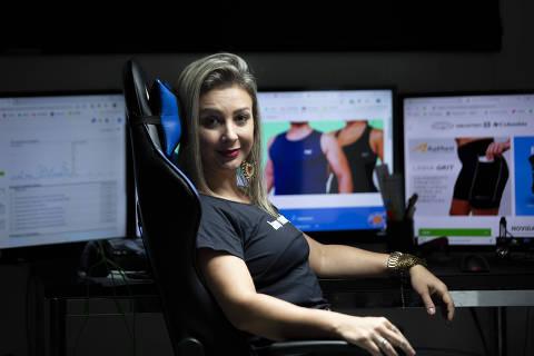 SAO PAULO - SP - 16.05.2019 - Retrato de Izabel Goulart fundadora da empresa Keep Running. (Foto Danilo Verpa/Folhapress, MPME)