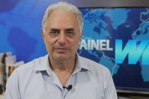 William Waack à frente do Painel WW