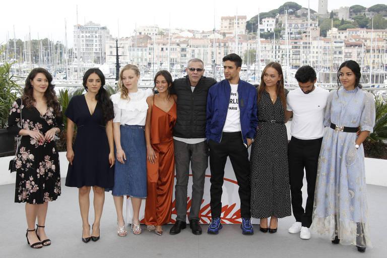 Equipe do filme 'Mektoub My Love: Intermezzo', no Festival de Cannes