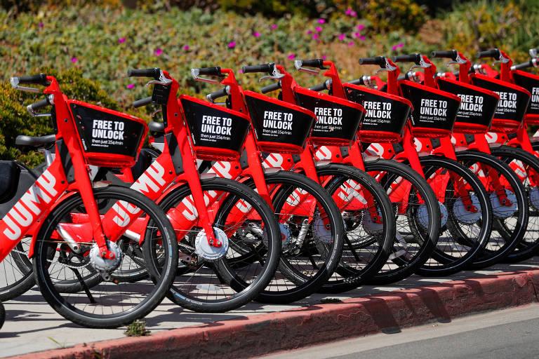 Uber lança bicicletas elétricas em Londres