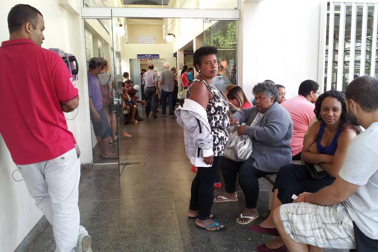 Entrada da emergência do Hospital das Clínicas da Unicamp, que fez exames nas crianças