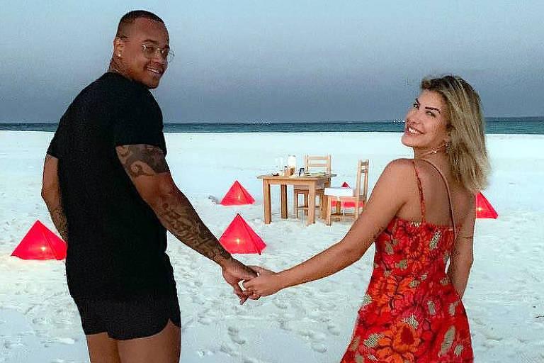Lorena Improta e o cantor Léo Santana se separaram em maio; essa foi a quarta vez que o casal se separou